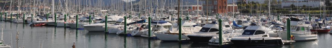 Imagen del puerto deportivo de Hondarribia